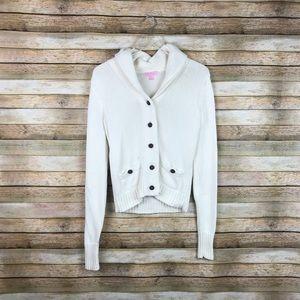 Lilly Pulitzer • Shawl Collar Button Cardigan